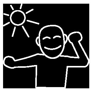 Symbol Erwachen